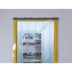 Porte à lanière 200x2 transparente