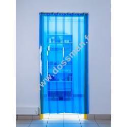 Porte à lanières 200x2mm transparentes Bleues