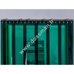 LA 200x2 Transpar Standard Positiv Non ignifug Verte Quick SUR MESURE