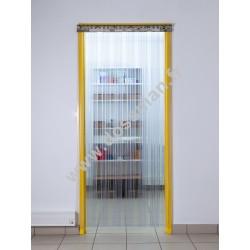 Porte à lanière 200x2 transparente Confort passage intensif