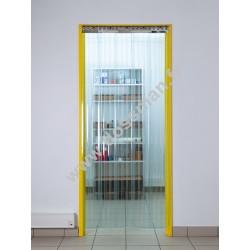 Porte à lanière 200x2 transparente Confort+ (-25°C) frigorifique souple
