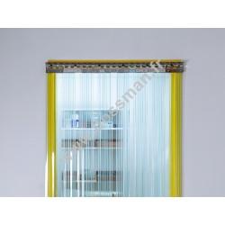 Porte à lamelle 200x2 Confort+ (-25°C) frigorifique transparente