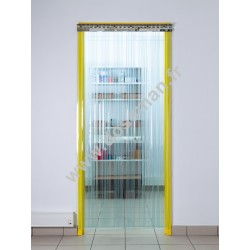 Porte à lame transparente 200x2 Confort+ (-25°C) frigorifique