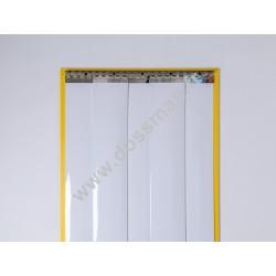 Porte à lanière 200x2mm Opaque Blanche