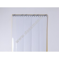 LA 200x2 Opaque Standard Positiv Non ignifug Blanc Quick