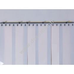 LA 200x2 Opaque Standard Positiv Non ignifug Blanc Quick SUR MESURE