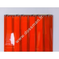 LA 200x2 Opaque Standard Positiv Non ignifug Orange Quick
