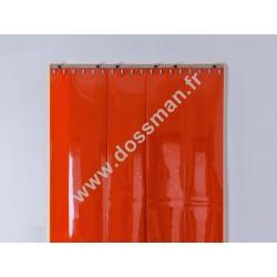 Porte à lanière 200x2 Opaque Orange