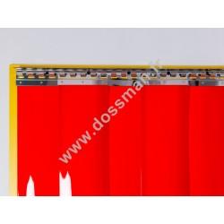 LA 200x2 Opaque Standard Positiv Non ignifug Rouge Traffic