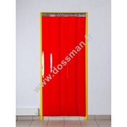 LA 200x2 Opaque Standard Positiv Non ignifug Rouge Traffic