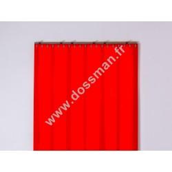 Porte à lanière 200x2 Opaque Rouge