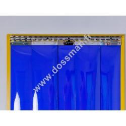 LA 200x2 Opaque Standard Positiv Non ignifug Bleue Traffic SUR MESURE