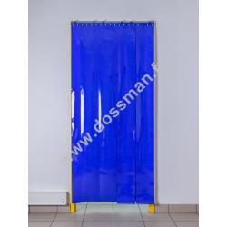 Porte à lanière 200x2 Opaque Bleue