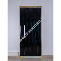 LA 200x2 Opaque Standard Positiv Non ignifug Noire Traffic