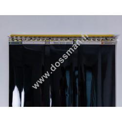Porte à lanière 200x2 Opaque Noire
