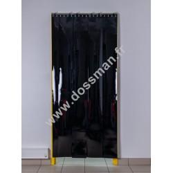 LA 200x2 Opaque Standard Positiv Non ignifug Noire Quick