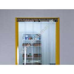 Porte à lanière 200x2 Antistatique transparente