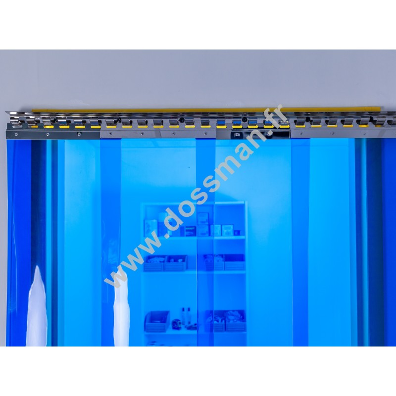 LA 300x3 Transpar Standard Positiv Non ignifug Bleue Traffic SUR MESURE