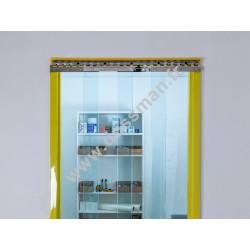 Porte à lanière 300x3 transparente (-25°C) frigorifique