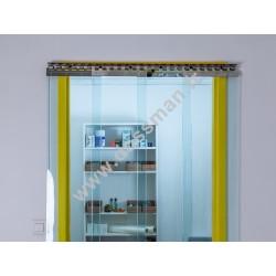Porte à lanière 300x3 transparente (-60°C) frigorifique grand froid