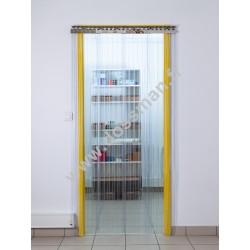Porte à lanière 300x3 transparente Confort+ passages fréquents