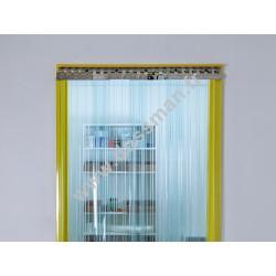 Rideau à lanière 300x3mm transparent Confort frigo (-25°C)