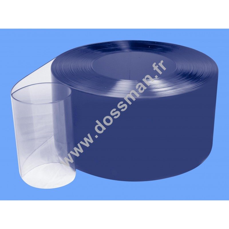 Rouleau de lanière 200 x 2 Transparent positive Ignifugé M2