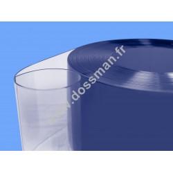 Rouleau de lame PVC 200 x 2 Transparent Ignifugé M2