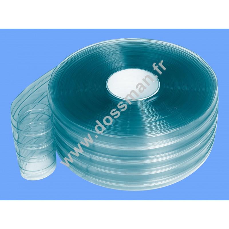 Rouleau de lanière 200 x 2 Transparent Confort + (-25°C) Non ignifugé