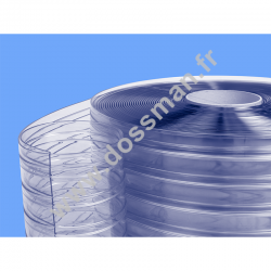 RO 200 x 2 Transparent Confort + positive Non ignifugé Transparent