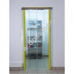 Rouleau de lame PVC 300 x 3 Transparent Confort+ (-25°C) Frigorifique