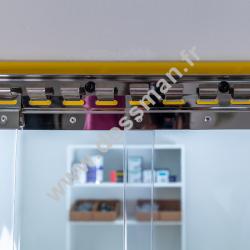 Rouleau de lame PVC 200 x 2 Alimentaire Transparent
