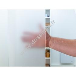 Lamelles PVC souple surface mate