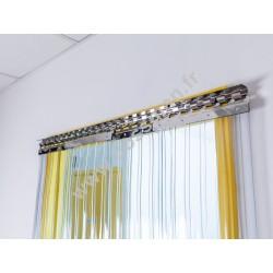 Porte à lamelles de 300x3 mm passages réguliers